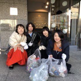 【表参道クリンクリーン】月に一度の清掃活動を始めました!